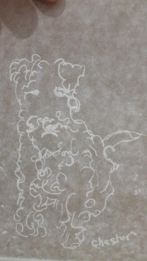 """Watermark Art """"Chester"""""""